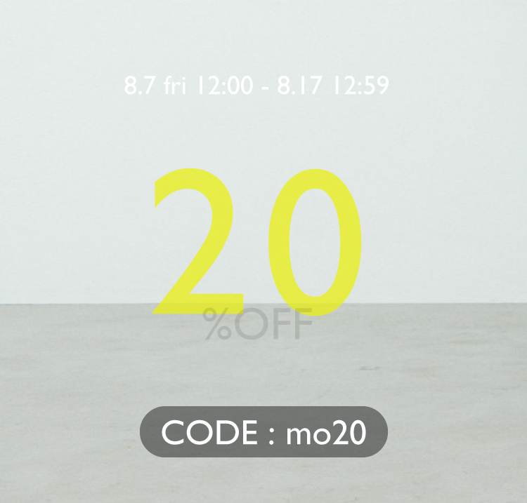 SALE MORE 20%OFF